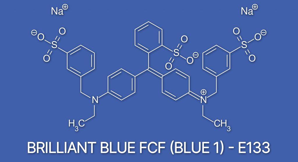 blue1 food dye